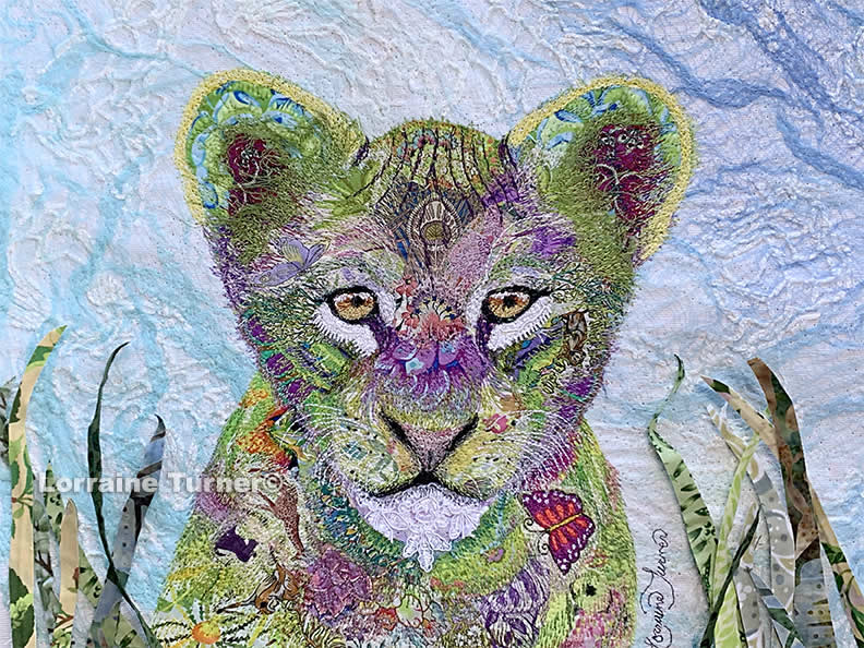 Fabric Collage: 2 day workshop in Chantilly, Virginia 2020