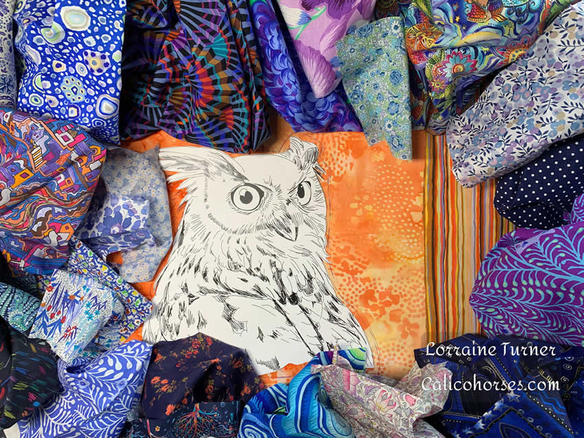 Fabric Collage: 2 day workshop in Cape May Court House, New Jersey