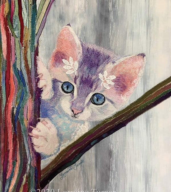 """Thread Painting Webinar """"Branching Out """""""