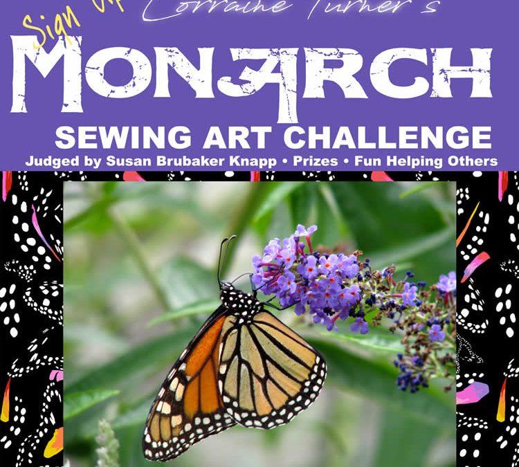 Monarch Sewing Art Challenge